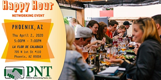 04/02/20 PNT Central Phoenix - Happy Hour Networking Event