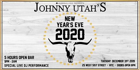 Johnny Utah's New Years Eve 2020 Party tickets