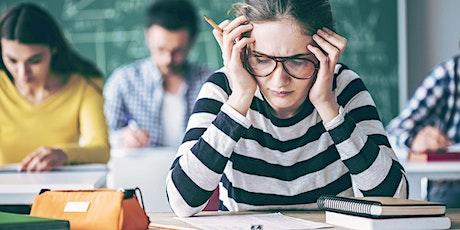 Anxiété et examens: comment y faire face et diminuer la pression tickets