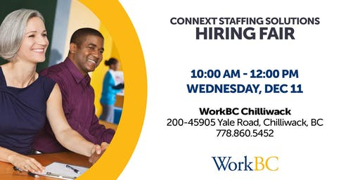 Connext Staffing Solutions - Hiring Fair