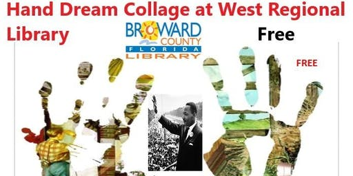 8 to 88 Years Old at West Regional Library: Hand Dream Collage, Part 1