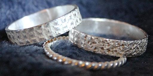 Beginner Silver Ring Bands Workshop