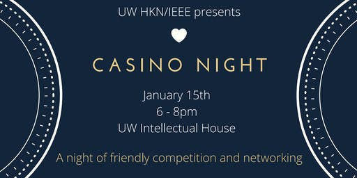 UW IEEE Casino Night 2020 Alumni Ticket