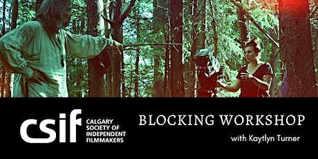 Blocking Workshop  tickets