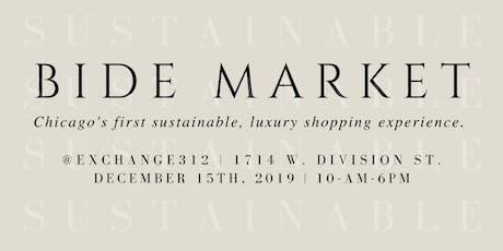 BIDE Holiday Market | Dec 15, 2019 in Chicago tickets