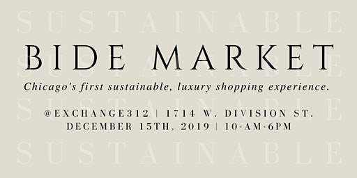 BIDE Holiday Market | Dec 15, 2019 in Chicago