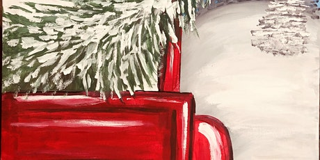 Paint Night @ the Cellar -Red Christmas Truck tickets