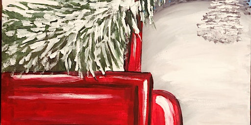 Paint Night @ the Cellar -Red Christmas Truck
