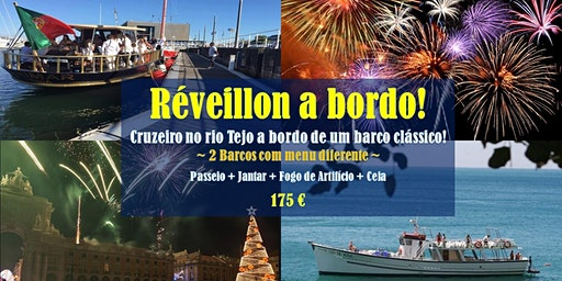 New Year's Eve over the Tagus River!