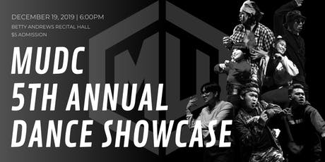 5th Year Anniversary MUDC Fall Showcase tickets