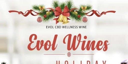 EVOL CBD Wellness Wine