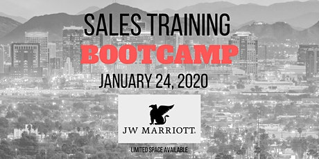 Sales Bootcamp - Master The #1 Skill of Millionaires - Learn More Earn More tickets