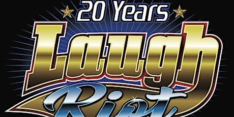 20th Anniversary Laugh Riot! - Nov 14th 2020 tickets