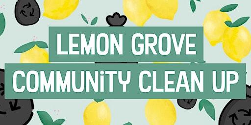 Lemon Grove Community Clean Up