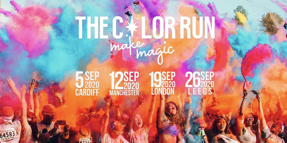 The Color Run 2020.The Color Run Leeds 2020 Tickets Sat 26 Sep 2020 At 10 00