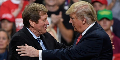 Trump Endorsed US Senate candidate Jason Lewis & Training on Phone Calling