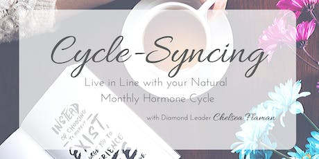 Cycle-Syncing:  Live in Line with your Natural Monthly Hormone Cycle tickets