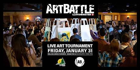 Art Battle Lloydminster - January 31, 2020 tickets
