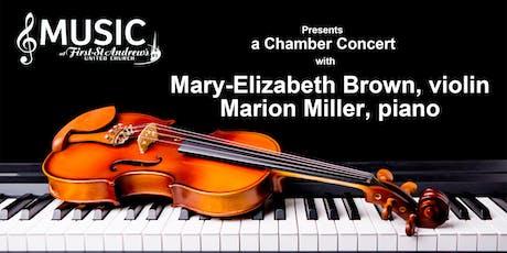 A Chamber Concert tickets