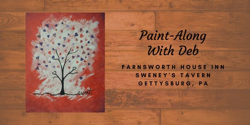 Love Tree Paint-Along - Farnsworth House Inn Tavern