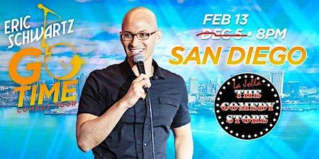 Eric Schwartz Go Time Comedy Tour tickets