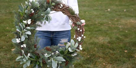 Farmhouse Wreath Making Class tickets