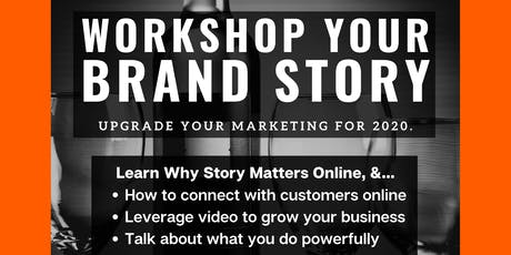 Workshop Your Brand Story tickets