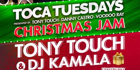 December 24: Toca Tuesdays Classic NYC Hip Hop Party with Resident DJ Tony Touch & Special Guests tickets
