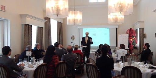 HUAWEI à COGI-PME,  6e Dîner Conférence, Manoir Campbell, 18 Dec. 12h-14h30