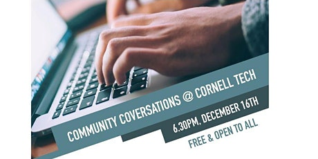 Community Conversations @Cornell Tech tickets