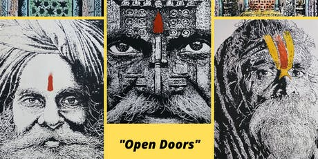 """Open Doors"" Art Exhibition Featuring the Work of Proshanta Karmakar Buddha tickets"