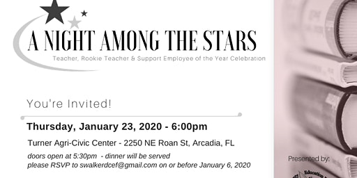 RSVP - A Night Among the Stars