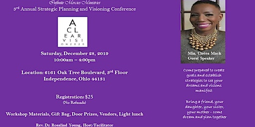 A Clear Vision 2020 - Strategic Planning and Visioning Conference