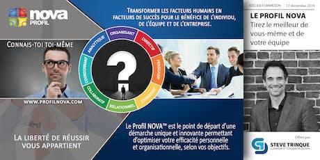 Le profil NOVA :  Tirez le meilleur de vous-même et de votre équipe. billets