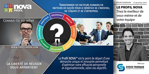 Le profil NOVA :  Tirez le meilleur de vous-même et de votre équipe.