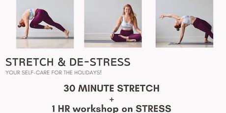 Stretch & De-Stress tickets