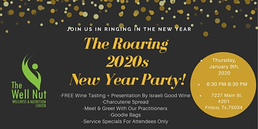 The Roaring 2020s New Year Party!