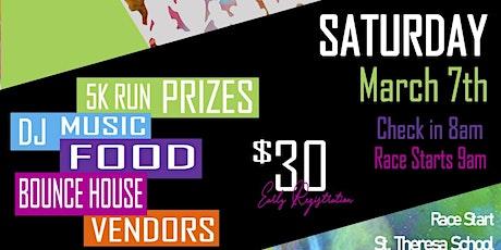 St. Theresa School 5K Color Run 2020 tickets