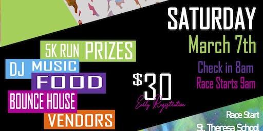 St. Theresa School 5K Color Run 2020