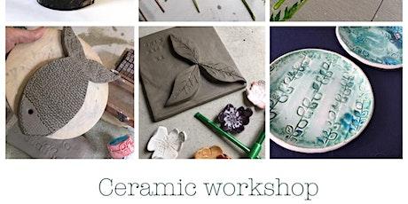 Ceramic workshop tickets