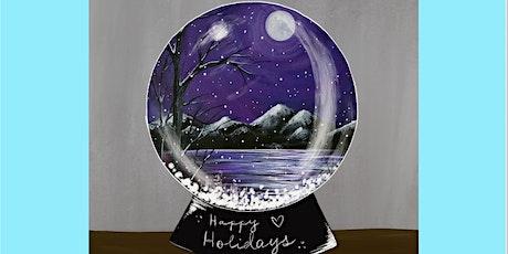 Snow Globe Wonderland Paint and Sip tickets