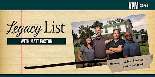 Legacy List with Matt Paxton