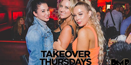 TakeOver Thursdays @ Harlot -- FREE Guestlist & VIP tickets