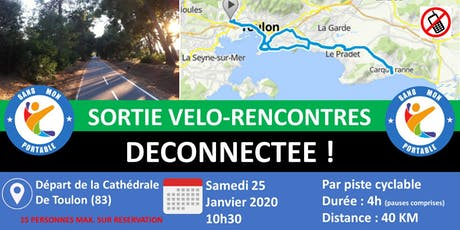 Sortie Vélo-Rencontres Déconnectée billets