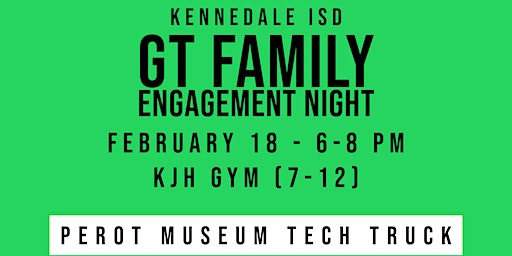 GT Family Engagement Night (7-12)