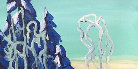 A Clear Winter by Arthur Lismer Paint & Sip Night - Art Painting, Drink & Food tickets