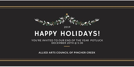 Christmas Potluck 2019 tickets