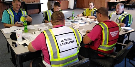 G-402: An Overview of the Incident Command System for Senior Officials and tickets