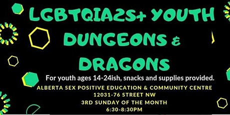 Queer Youth Dungeons and Dragons tickets