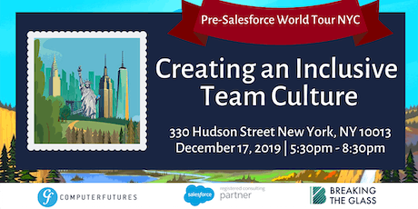 Salesforce World Tour NYC - Pre-Conference Happy Hour + Panel Event tickets